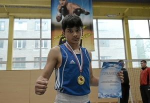 Владислав Трофимов - победитель соревнований