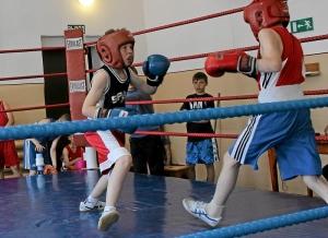 Егор Мартыненко (слева) настроен только на победу