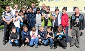Команда центральной секции бокса