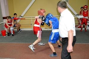 3-я пара. Горбунов Вячеслав (в красной форме) - Абрамов Арсений (3)
