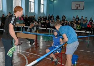 Андрей Чибунин  в перерыве между раундами