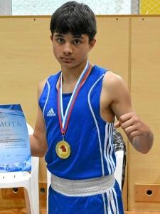 Влад Трофимов - призер соревнований