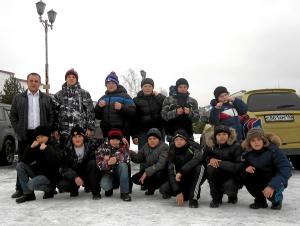 Киселевская команда после соревнований