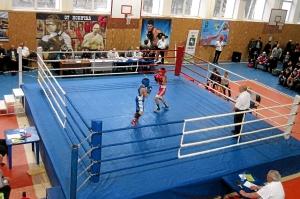 Первый бой Димы Красовского (в синей форме)