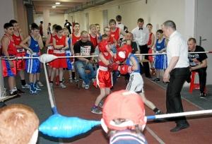 Первый бой соревнований
