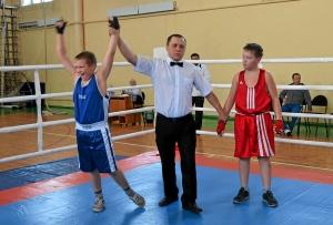 Победил Никита Горбунов, но по ошибке судьи-информатора подняли руку Сергею Лазареву