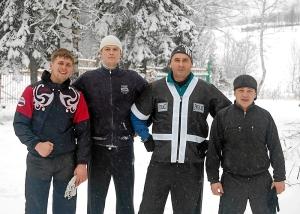 Победители (слева-направо) Павел Чабанов, Сергей Гупалов, Игорь Григорьевич Пужак, Иван Пономарев