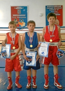 Победители соревнований (слева направо) Алексей Фришбутер, Никита Пинигин, Александр Говорков