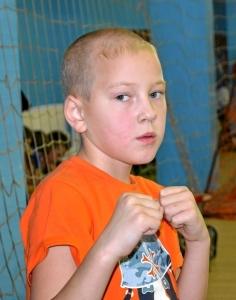 Самый юный боец нашей команды - Егор Пономарев