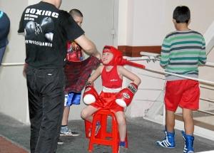 Самый юный участник соревнований - Егор Пономарев