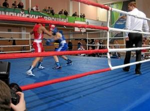 Финальный бой Влада Трофимова (в красной форме)