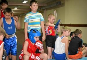 Юные боксеры из центральной секции