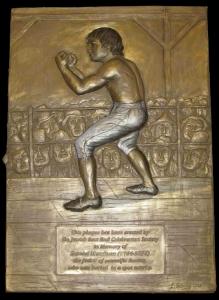 Мемориальная  доска в Лондоне Даниэлю Мендозе