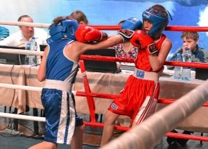 Финал. Момент боя с участием Егора Мартыненко (в синей форме) 1 (4)