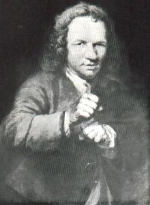 1719 год. Первый чемпион Англии - Джеймс Фигг