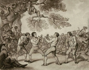 1783 год. Д.Мендоза - Т.Тайн, бой продолжался 75 рау