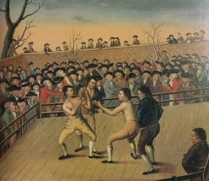 1795 год. Джон Джексон против Даниэля Мендозы