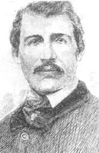1860 год. Участник первого международного боя - американец Джон Хинэн