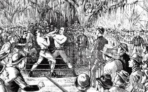 1862 год. Английский призовой бокс