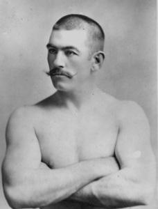 1890 год. Первый в современной истории чемпион мира по боксу в тяжёлом весе Джон Салливан