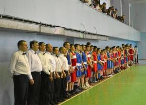 Парад закрытия соревнований