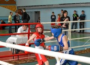Финал. Момент боя с участием Егор Мартыненко (в синей форме) (1)