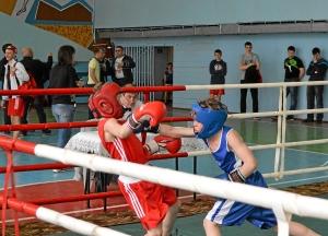 Финал. Момент боя с участием Егор Мартыненко (в синей форме) (2)