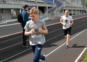 Бег на 3000 метров. Два Ивана. Балашов и Коломин