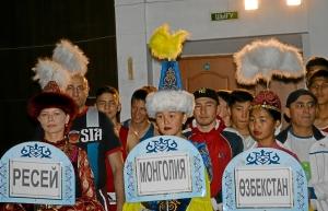 На параде открытия