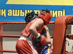 Первый бой на турнире Влада Трофимова (в красной форме) (3)