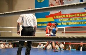 Первый бой на турнире Влада Трофимова (в красной форме) (4)