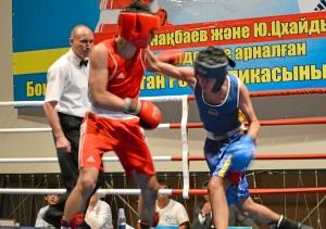 Первый бой на турнире Влада Трофимова (в красной форме) (5)