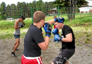 23 Школа бокса с партнером (2)