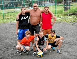 41 Команда победителей по волейболу