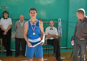 29 Победитель соревнований Алексей Помогалов