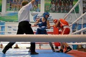 11 Второй бой на турнире Алексея Помогалова (в синей форме)