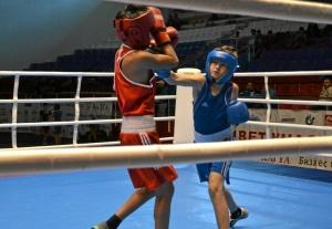 12 Полуфинальный бой Александра Савкина (в синей форме)