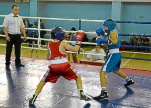 15 Момент боя с участием Арсения Абрамова (в синей форме)