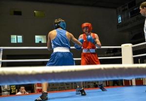 17 Полуфинальный бой Влада Трофимова (в синей форме)