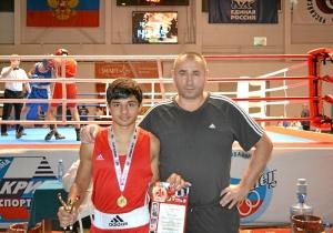 24 Победитель соревнований Владислав Трофимов с тренером