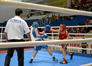 4 Первый бой на турнире Ивана Балашова (в синей форме)
