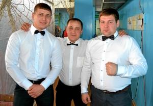 4 Судьи соревнований (слева направо) Павел Чабанов, Иван Пономарев, Артем Щепилин