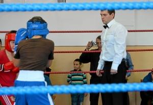 1 Рефери в ринге Владимир Пономарев