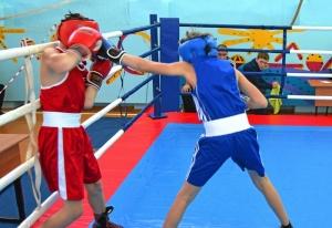 1 (12) Момент боя с участием Александра Савкина (в синей форме)