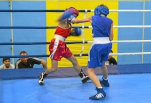 1 (2) Момент боя  Ивана Балашова (в синей форме)