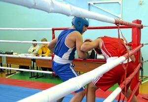1 (28) Момент боя с участием Рубика Шахбазяна (в синей форме)