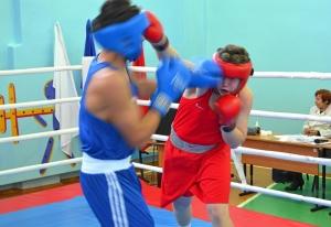 1 (30) Момент боя Магомеда Пугоева (в синей форме) с Артемом Пичугиным