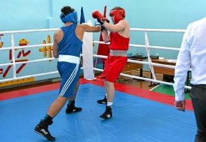 1 (31) Момент боя Магомеда Пугоева (в синей форме) с Артемом Пичугиным