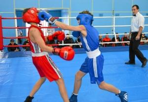 1 (38) Финал. Момент боя  Ивана Балашова (в синей форме)