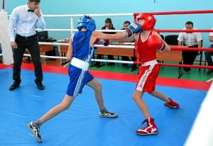 1 (44) 1 Финал. Момент боя с участием Александра Савкина (в синей форме)